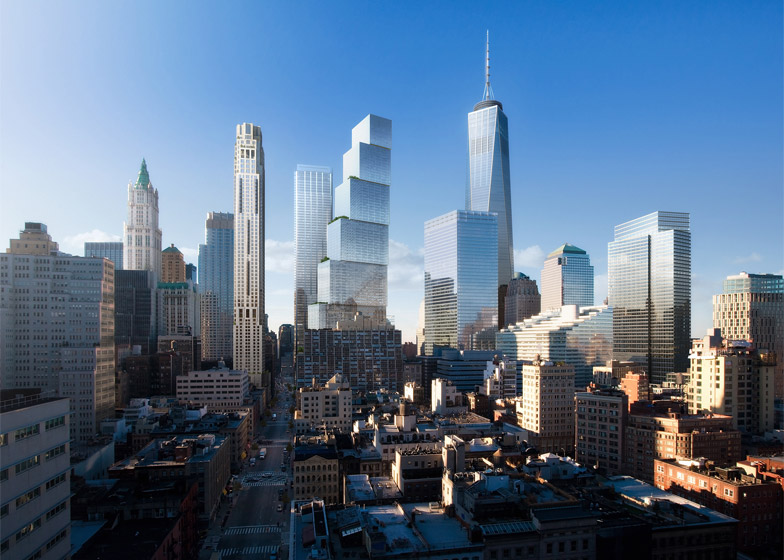 Stunning  of Two World Trade Center by BIG