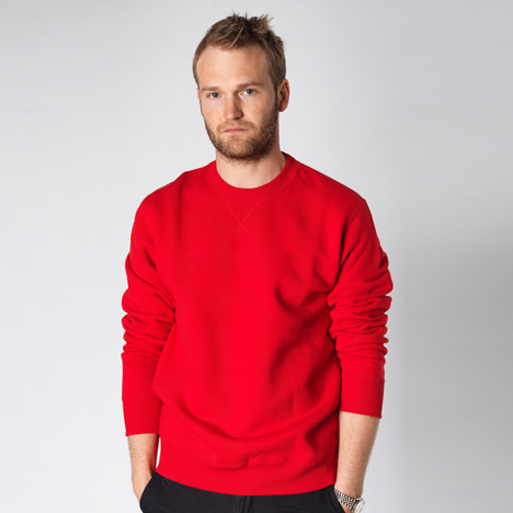 Tom Cridland proposes alternative to throwaway fashion with The 30 Year Sweatshirt
