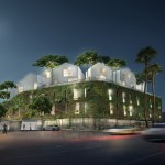 MAD designs hilltop village for Wilshire Boulevard in Beverly Hills
