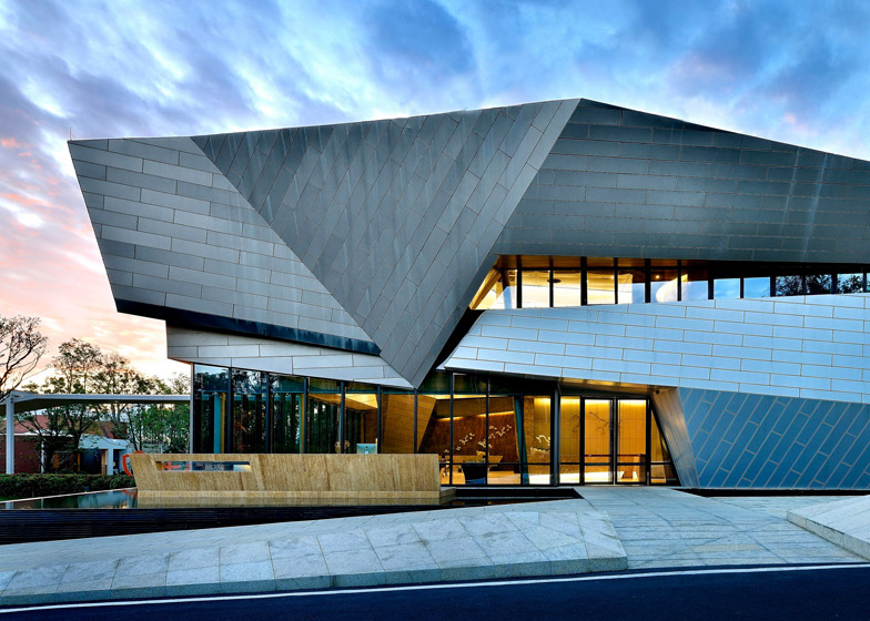 Tai Chi sales centre by China Vanke Properties - winner of Golden A' Design Award