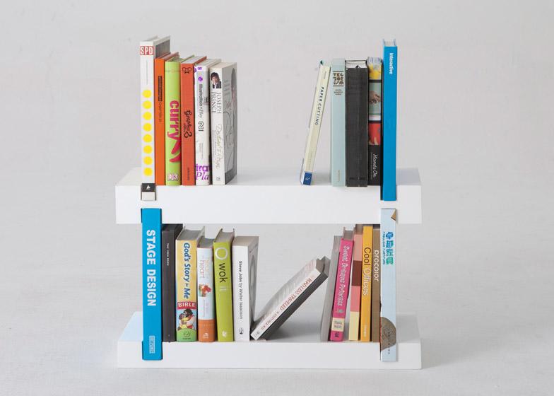 Minimal Bookshelf by Hwee Chong Chan - winner of a Silver A' Design Award