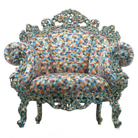 Mendini's Proust chair, 1978. Image courtesy of Cappellini