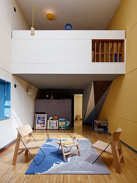 Cal students take over apartment n 50 at cit radieuse for Appartement design marseille