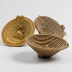 Jon McTaggart forms sand bowls using robot-injected resin
