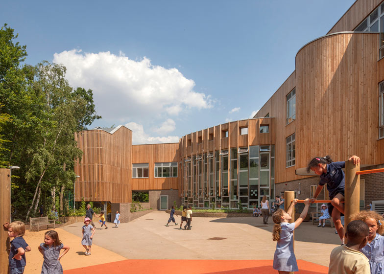 Ashmount Primary School by Penoyre & Prasad