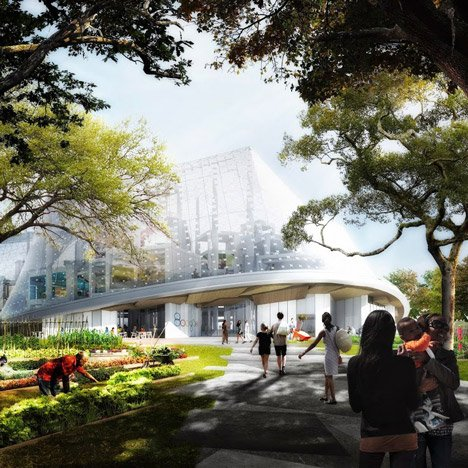 Google reveals new site for Mountain View&ltbr /&gt headquarters by BIG and Heatherwick