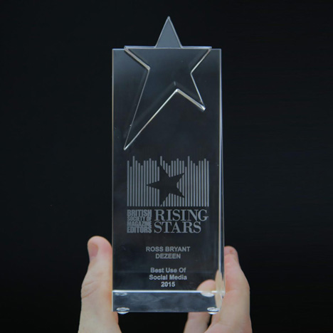 BSME Rising-Stars Best Use of Social Media 2015 award Ross Bryant
