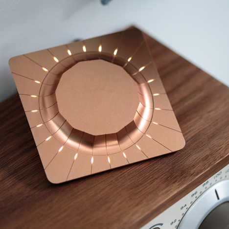 Gadi Amit's Beep device syncs to any speaker in the home