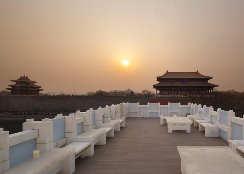 Beijing Tea house by Kengo Kuma