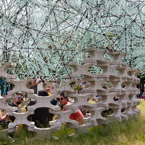 Billion Oyster Pavilion by BanG Studio
