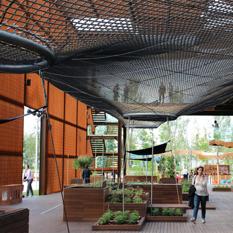Brazil pavilion at Milan Expo 2015 by Studio Arthur Casas
