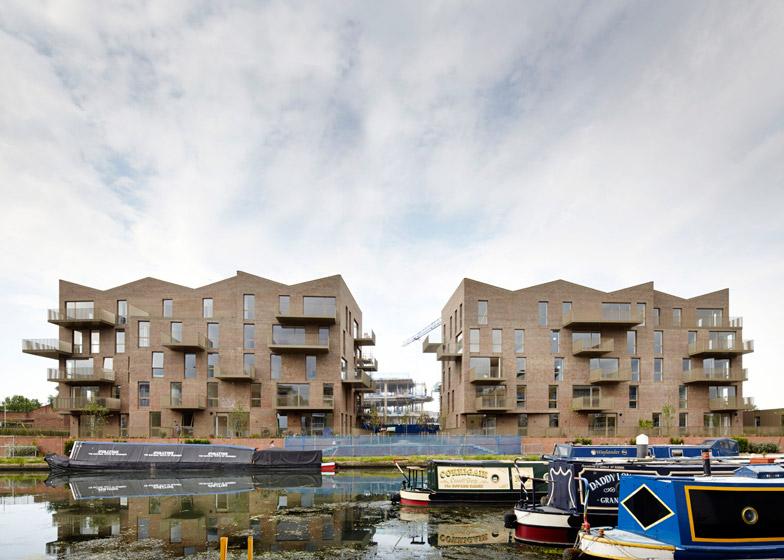 Brentford Lock West by Duggan Morris Architects