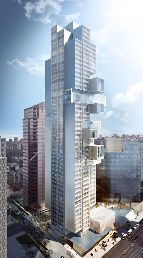 Buro Vancouver skyscraper by Ole Scheeren