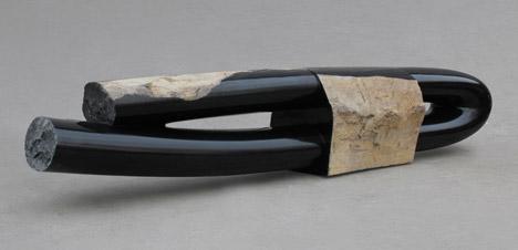 Byung Hoon Choi to exhibit sculptural basalt benches at Design Miami/Basel