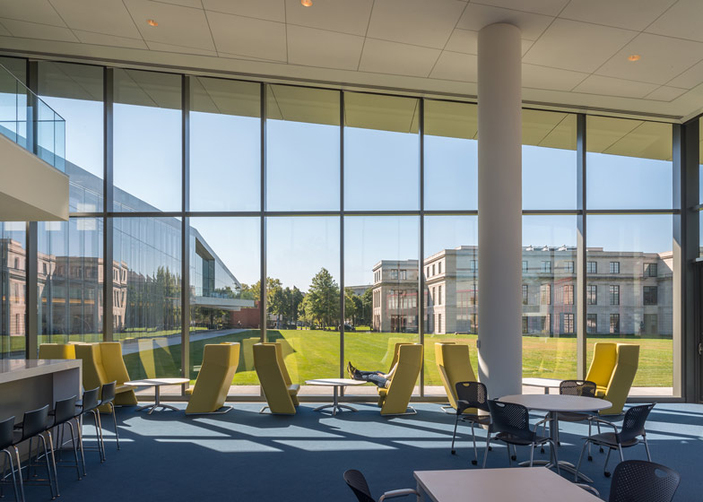 Case Western Reserve University Tinkham Veale University, Cleveland, Ohio, by Perkins + Will