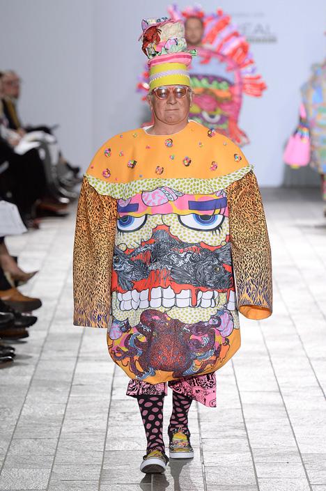 Central Saint Martins BA Fashion 2015 Angus Lai