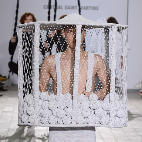 Dezeen's top six picks from this year's Central Saint Martins fashion design graduates
