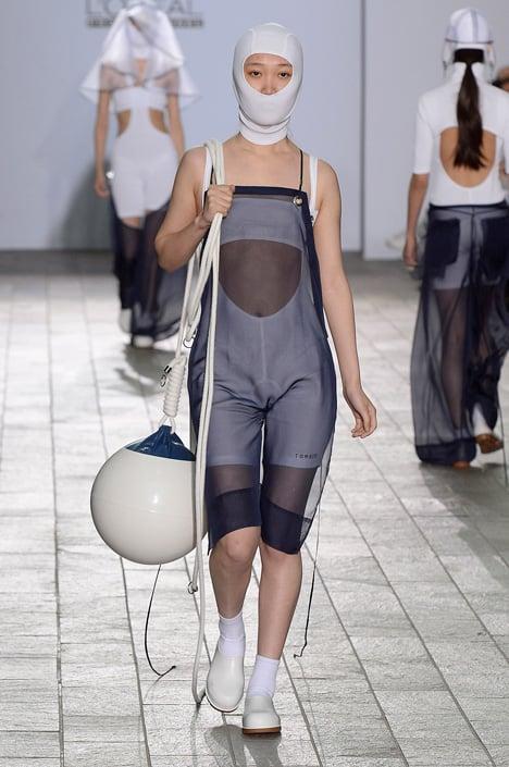 Central Saint Martins BA Fashion 2015 James Mitchell