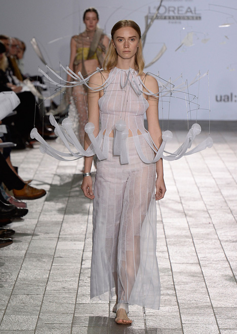 Central Saint Martins BA Fashion 2015 Susan Fang
