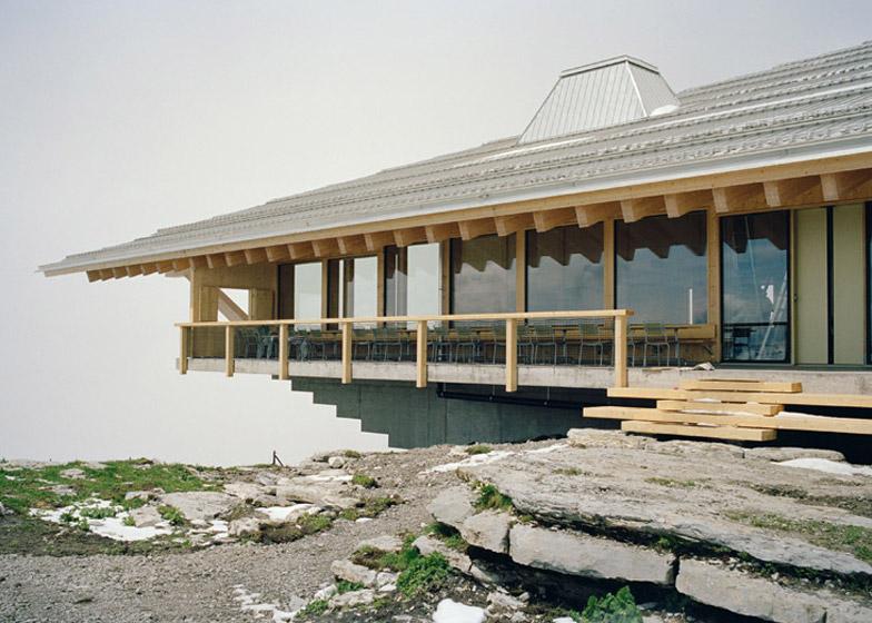 Chäserrugg Toggenburg mountain restaurant by Herzog & de Meuron