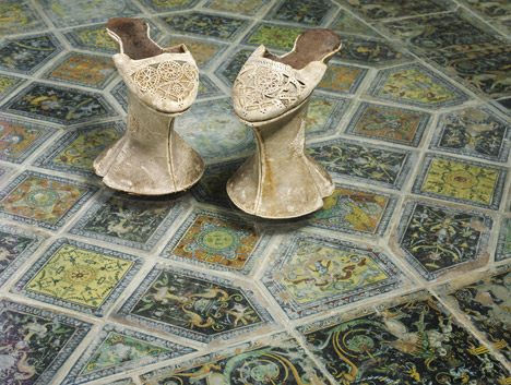 V&ampA Shoes Pleasure and Pain exhibition