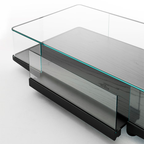Collector Cabinets for Glas Italia by Edward Barber &amp Jay Osgerby