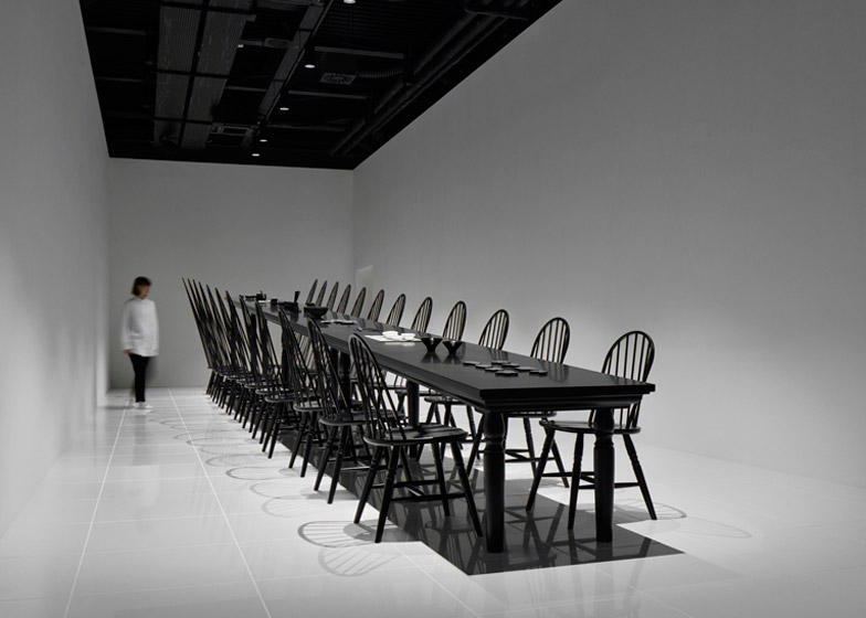 Colourful Shadows by Nendo