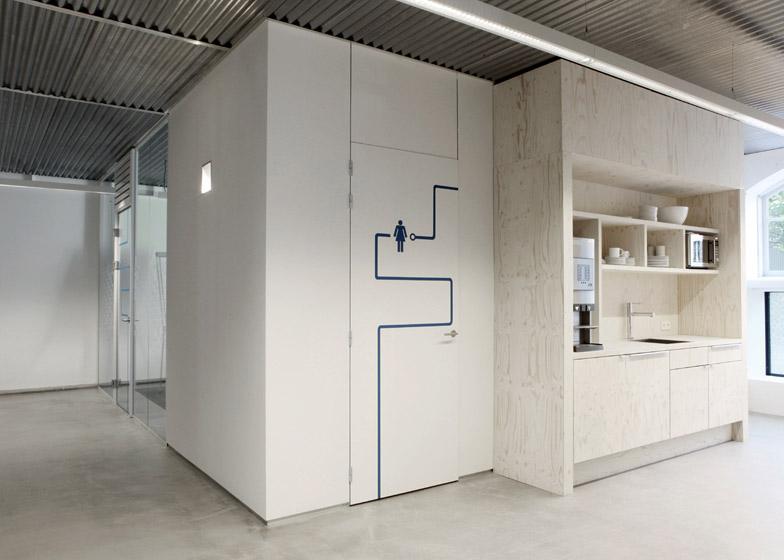 Connekt interior by Ateliers