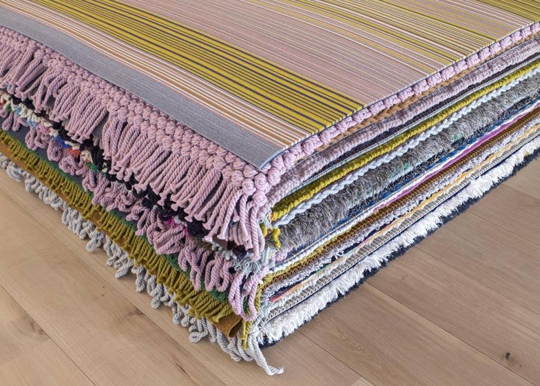 Cork rug by Hella Jongerius