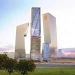 Daniel Libeskind plans three angular skyscrapers for Rome