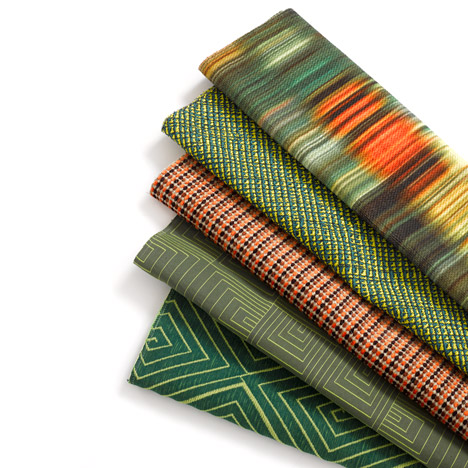 David Adjaye textiles for Knoll