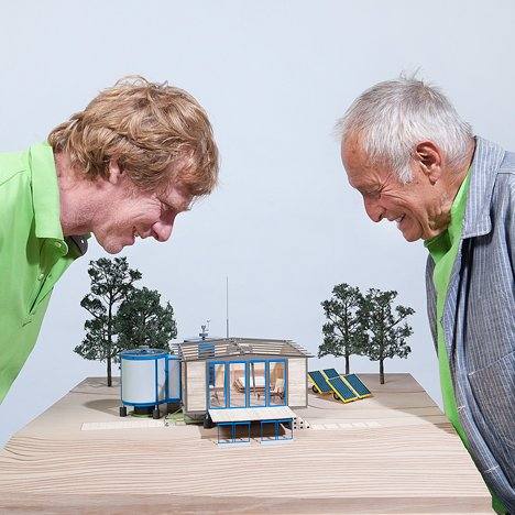 Richard Rogers updates Jean Prouvé's 6x6 Demountable House for Design Miami/Basel