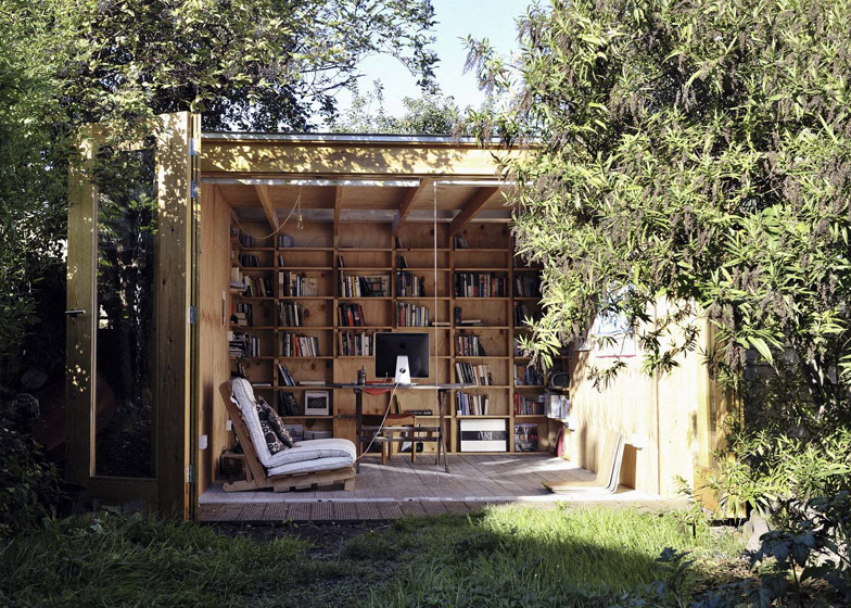 small outdoor office. The Hackney Shed By Office Sian 8 Of 25 Small Outdoor