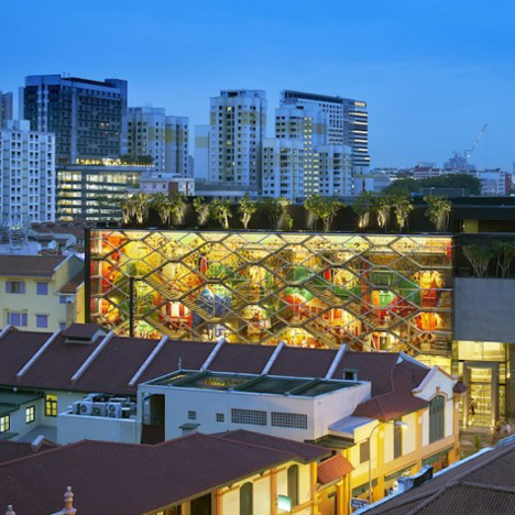 Glowing Lantern Building by Robert Greg Shand Architects and URBNarc