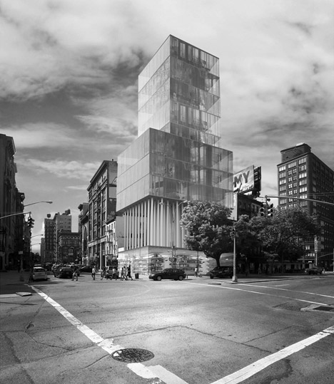 Studio Dror's conceptual tower designs for New York