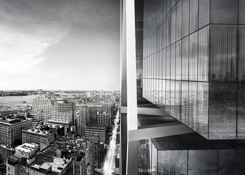 Studio Dror's conceptual tower designs for New York