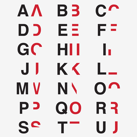 Dan Britton's typeface recreates the frustration of reading with dyslexia