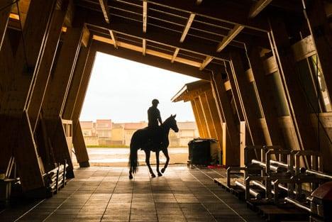 Equestrian Centre by Carlos Castanheira &amp Clara Bastai