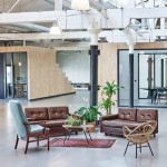 Fairphone's Amsterdam offices built inside an old warehouse using reclaimed materials