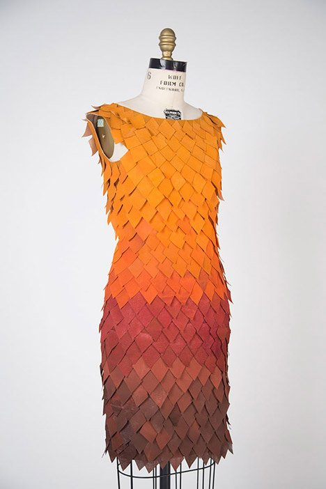Fall dress by Birce Ozkan