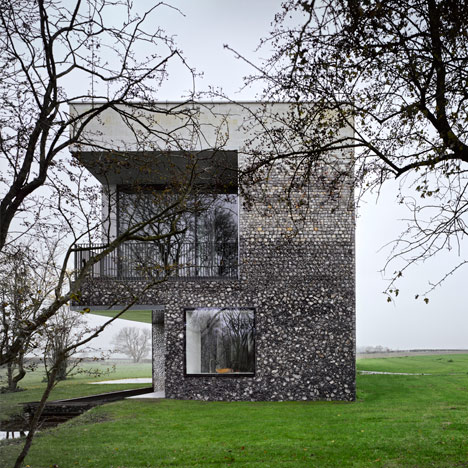 Flint House by Skene Catling de la Pena