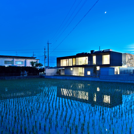 Floating House by Satoru Hirota Architects