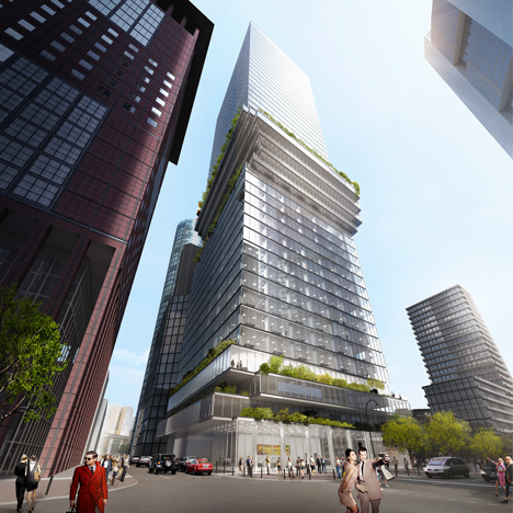 BIG's experiments in skyscraper design continue with Frankfurt win