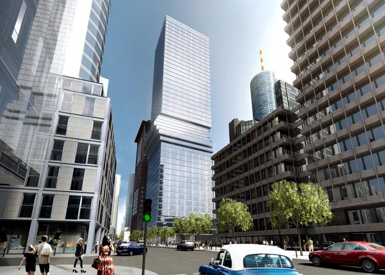 Frankfurt skyscraper by BIG