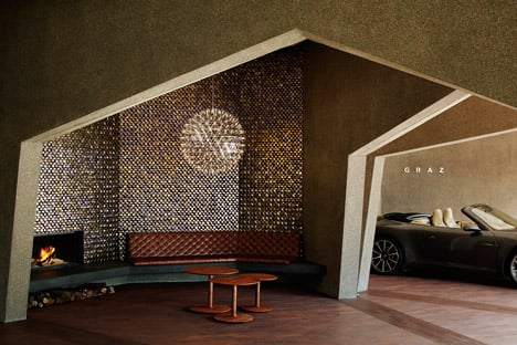 Hiroshi Nakamura Creates Warren Like Car Showroom And Home