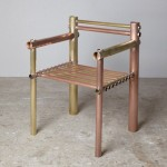 Gallery Fumi's Design Miami/Basel 2015 exhibition includes metal furniture by Max Lamb