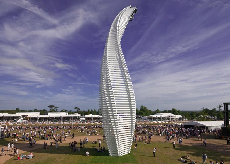 Goodwood 2015 sculpture by Gerry Judah for Mazda