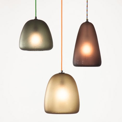 Tokenlights creates pendant lamps shaped like Japanese fruit
