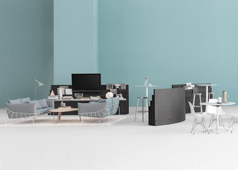 Metaform Portfolio office furniture by Herman Miller