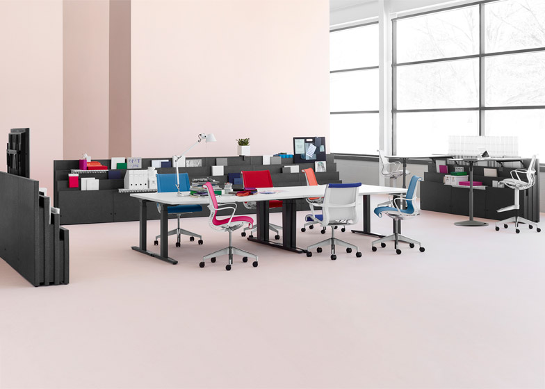 4 Of 8; Metaform Portfolio Office Furniture By Herman Miller